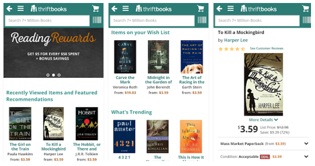 ThriftBooks, apps for your New & Used Books hunt - Youth Apps - Best  Website for Mobile Apps Review